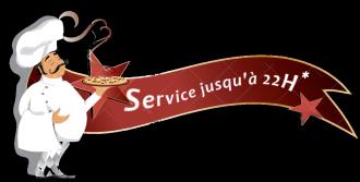 Service assuré jusqu'à 22H
